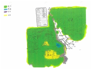 Dover Township Zoning Map