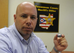 Photo courtesy of The Times Reporter: Tuscarawas County Sheriff Chief Deputy Orvis Campbell